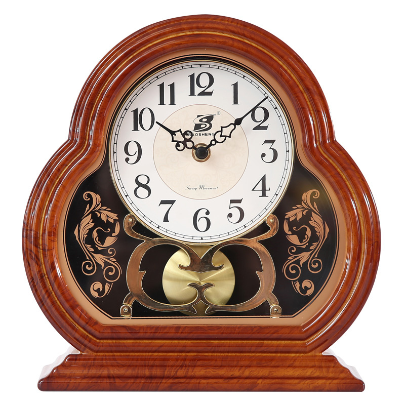 New Classic European And American Clock Personality Desk Pendulum Fashion Big Size Livingroom Clock Quiet Bedroom Clock W026 женская рубашка european and american big 1715
