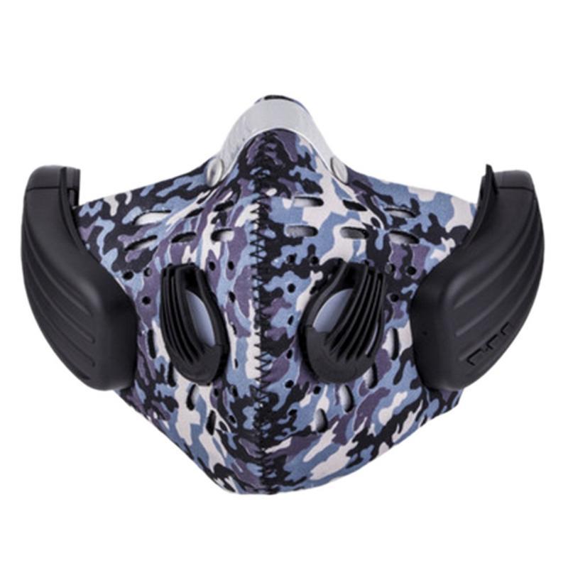 Sans fil Casque Bluetooth En Plein Air Équitation Anti-brouillard Masque Conduction Osseuse Casque Anti-pollution Diy Câble Casque