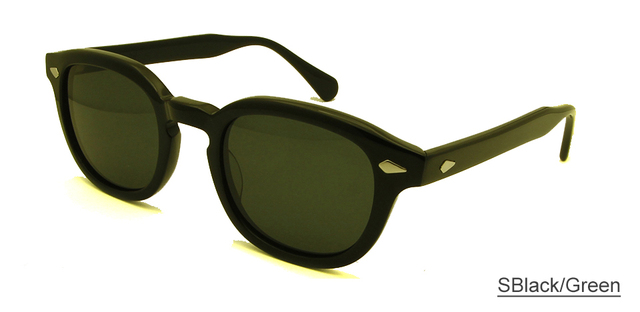 749dc651df Retro Vintage Sunglasses Fashion Male Round Shapes Johnny Depp Rivet Sun  Glasses For Men Brand Designer Glasses UV400 Goggles