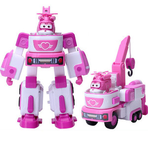 Image 3 - HOT 17*11cm Super Wings toys Airplane ABS Action Figures Super Wing Transformation Robot Jet Animation for birthday gifts