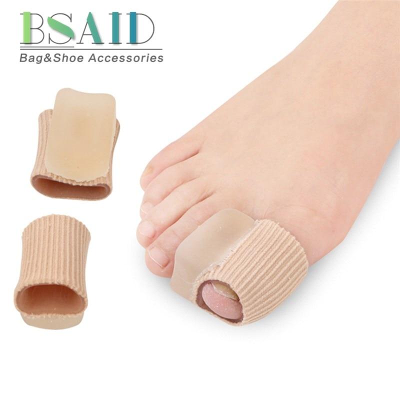 BSAID Silicone Bunions Pads Pedicure, Elastic Cuff Hallux Valgus Corrector Separator, Professional Orthopedics Stretchers insert стоимость