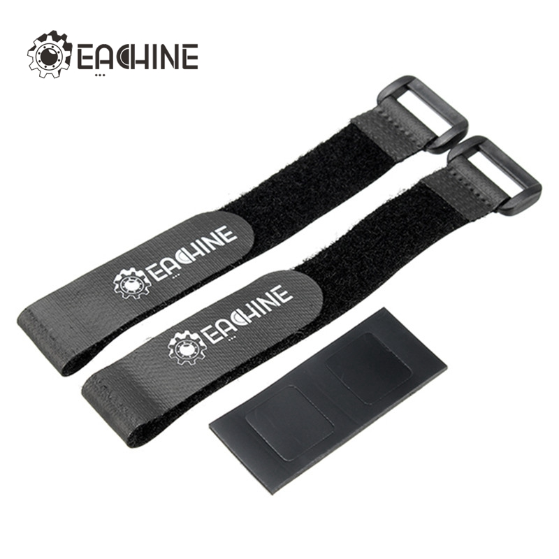 Eachine Wizard X220S FPV Racer Spare Part Lipo Battery Straps & Non-slip Mat Belt Tie For FPV Quadcopter Helicopter Accessories