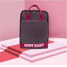 Carbon gray Mummy bag new fashion multi-function large capacity diaper portable waterproof pregnant women for baby care