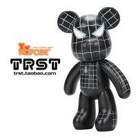 New 15 inch Violence Bear Momo BEARBRICK Gloomy Bear POPOBE Spiderman Vinyl Toys Brithday Gifts