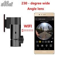 Sbhei мини WI FI Видеорегистраторы для автомобилей 1080 P тире Камера цифровой видео Регистраторы видеокамера приложение Мониторы Ночное видение
