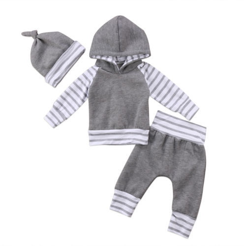 d1524dd1d985 Autumn Winter Toddler Baby Boys Girls Thich Clothing Long Sleeve ...