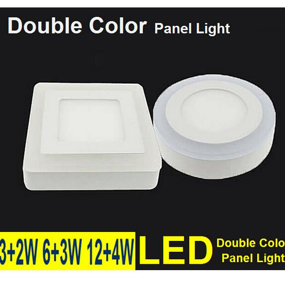 AC 110V 220V 6W 9W 18W 24W 3 Modelo Redondo Cuadrado Panel LED - Iluminación LED - foto 5