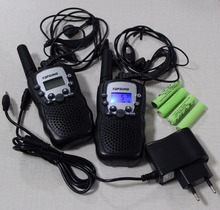 T388 pair PMR 446mhz talkie walkies portable mobile radios comunicador w/ led flashlight direct buy china batteries charger
