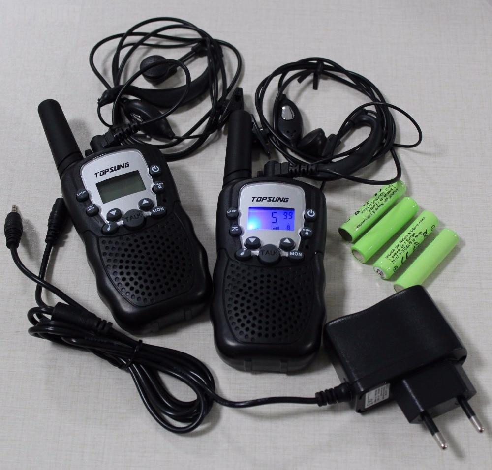 T388 paire PMR 446 mhz walkie walkies portable mobile radios comunicador w/led lampe de poche directe acheter chine batteries chargeur