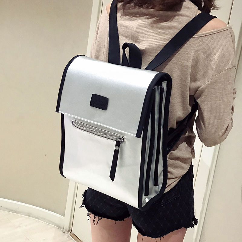 Women Leather Backpack Female Shoulder Bag Casual Fashion Backpacks  For Teenage Girls Large Capacity School Backpack Sac A Dos