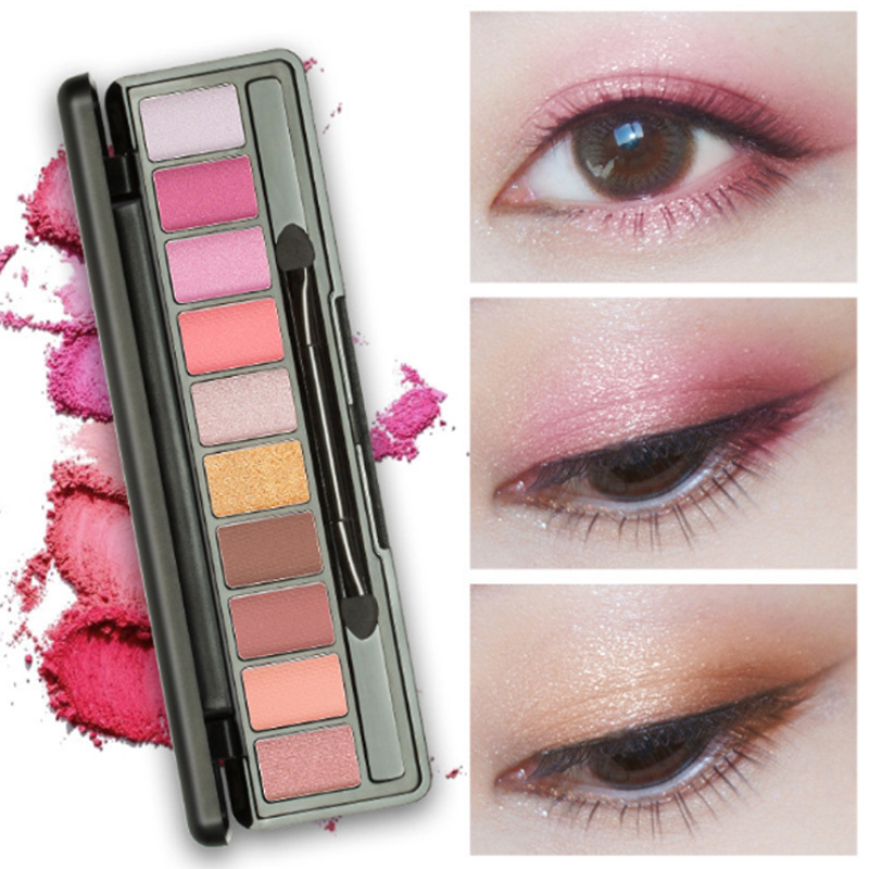 Beauty Essentials Lameila Brand 10or12 Color Eye Shadow Of Cherry Blossoms Suit Pearl Light Dumb Light Lasting Coloration Waterproof Eye Shadow Beauty & Health