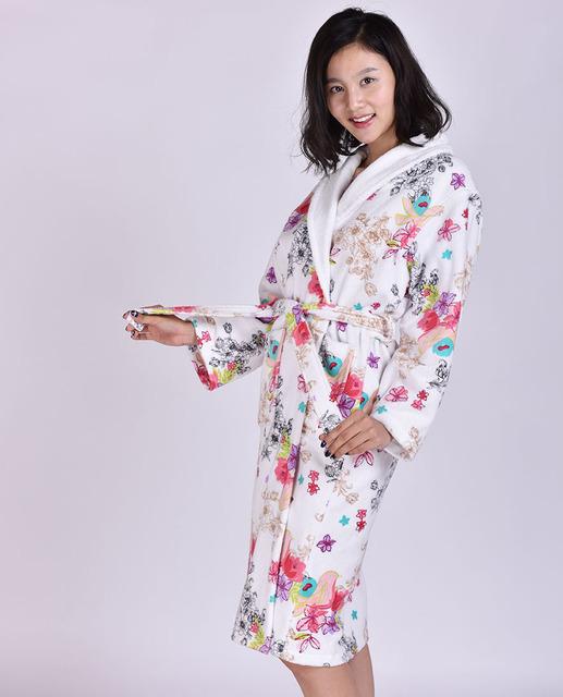 2016 Oferta de Algodón Pijama Pijamas Hombre Hombre Moda Nuevo de Alta calidad de Pijamas Albornoz Toalla Delgada Suave Cerca de La Piel de Adultos MS Robe