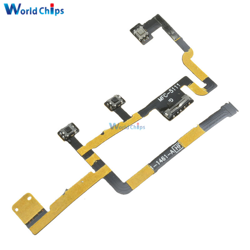 Consumer Electronics Flex Cables Ribbon Flex Cable Power Button On Off Volume Control Replacement For Apple Ipad 6 Air 2 Dropshipping High Quality