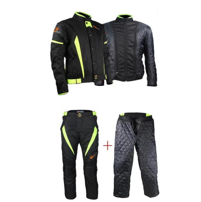 2017 Riding Tribe Motorcycle Jackets Waterproof Breatheable Motocross Pants Motos jaqueta chaqueta clothing winter warm Suits