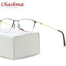 Titanium Glasses Frame Men Semi Rimless Prescription Eyeglasses Women Myopia Optical Frames Ultralight Korean Screwless Eyewear screwless eyewear prescription eyeglasses women ultralight 2018 round myopia optical denmark korean glasses frame men titanium
