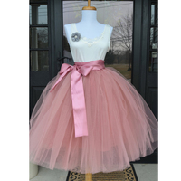 65cm Tulle Skirt Women Tulle Skirt TUTU Tulle Skirt Wedding Bridal Bridesmaid Skirt Wedding Dress Underskirt