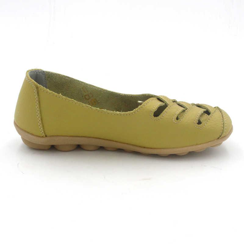 TIMETANG Moda 10 renkler Kadınlar Hakiki Deri anne ayakkabısı Moccasins kadın Yumuşak Eğlence Flats Kadın Sürüş Ayakkabı Düz