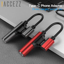 !ACCEZZ USB Type C Adapter 3.5mm Jack Earphone Cable For Xiaomi Mi 6 Huawei Mate 10 Pro Aux Type-C Fast Charge OTG Extension