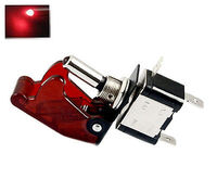 12V 20A Red LED Illuminated On Off SPST Car Automotive Toggle Switch Button
