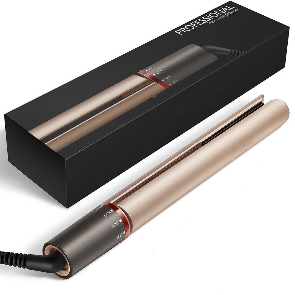 Codace Display LED Placa Ondulada 2 em 1 Turmalina Cerâmica Alisamento e Curling Flat Iron Hair Styling Ferramenta Dropshipping