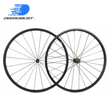 Only 869g! Deercycles Lightest 700c 20mm Carbon Tubular Road Bike Wheels, Bicycle Wheel set , Extralite/Carbon Ti/Yuniper Hubs elite aff dt 350s carbon road bike wheel 25mm or 27mm width tubular clincher tubeless 700c carbon fiber bicycle wheelset