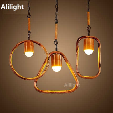 creative vintage pendant lamps simple loft style hemp rope bamboo pendant lights fixtures dining room led bamboo lighting fixtures