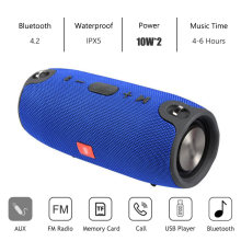 Mini Speaker Portabel Bluetooth Nirkabel Stereo Speakerphone Musik Radio Subwoofer Speaker untuk Komputer dengan TF FM(China)