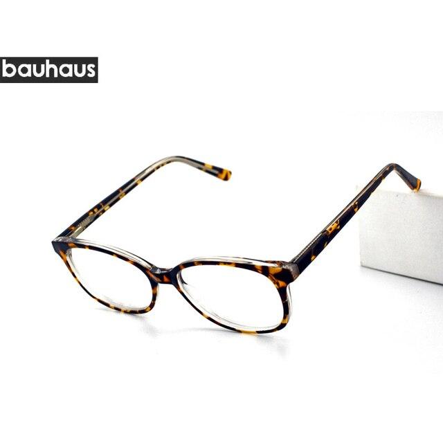 468b54114 bauhous Glasses 2017 Italy Design Optical Frame Optics Myopia Super Light  Eyeglasses For Men For Women oculos de grau