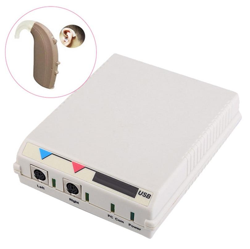 Digitale Assistenza Hearing Aid Programmatore Amplificatore di Voce del Suono Apparecchi Acustici Macchina di Programmazione Funzionato come Hi-Pro Hipro USB
