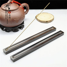 There are equipment quality ebony long incense inserted present Incense seat wooden gift wholesale