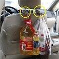 Car back seat headrest estendal ganchos suporte, Para bolsa bolsa de pano, Acessórios do carro