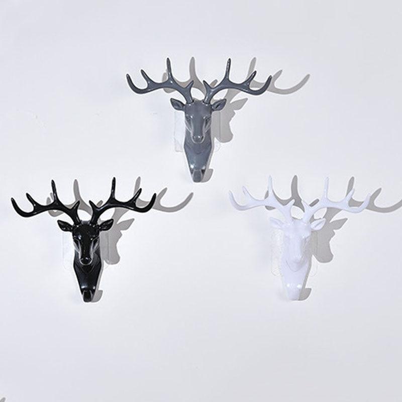 Aliexpress.com : Buy Animal Head Shape Wall Decor Hooks Household ...