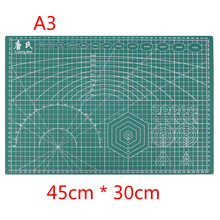 A3 Cutting Mat 45 * 30cm Manual DIY Tool Cutting Board Double-sided Available Self-healing Cutting Pad