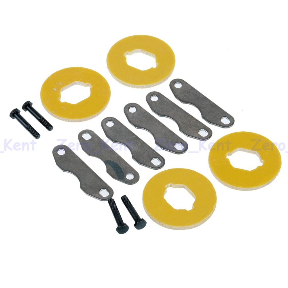 81028 Brake Discs For HSP RC Model 1/8 Nitro Car Buggy Truck Spare Parts hsp rc model car spare part 02023 clutch bell double gears 16t 21t rc 1 10th 4wd truck buggy destrier backwash
