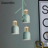 Nordic деревянные подвесные светильники Современные светодиодные подвесной светильник для Гостиная Спальня Лофт Промышленные домашний деко
