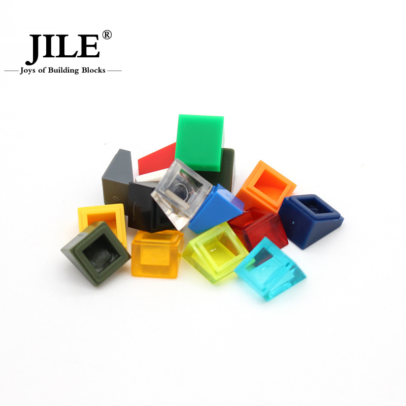 Free Shipping!moc tiles 1*1 cant piece DIY enlighten block bricks Compatible With Assembles Particles free shipping plate 1x2 w 1 knob diy enlighten block bricks compatible with assembles particles