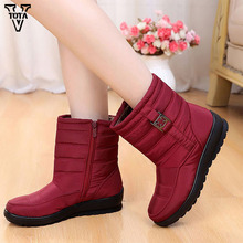 VTOTA 2018 Classic Boots Women Winter Warm Shoes Snow Comfortable Ankle Platform bota feminina