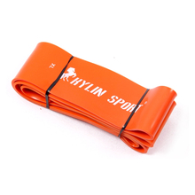 workout elastic orange resistance strength power bands fitness equipment for wholesale and free shipping kylin sport
