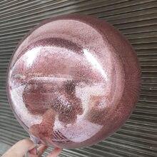 Leeiu decoração do casamento diy transparente glitter balões confetes bola de ar aniversário festa de chuveiro do bebê decoração pvc hélio baloons