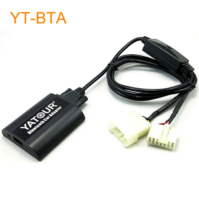 Yatour BTA Car Bluetooth Adapter Kit Work with Factory CD Changer for OEM Head Unit Radio for Toyota for Lexus Cars car digital music mp3 cd changer for head unit radio for lexus is200 is250 is300 is350 lx470 rx300 gs300 gs400 gs430 gs450h