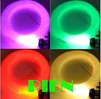 45 Watt 5 Mt RGB LED Glasfaser bunte kunststoff Sterndeckeninstallationssatz licht 1mm + RGB faser Lichter Motor + Fernbedienung 85 V-265 V durch DHL 6 satz