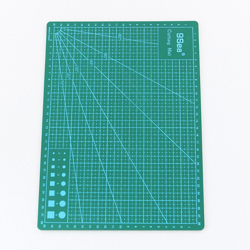 1PC 30cm X22cm Pvc Rectangle Cutting Mat Tool A4 Craft Dark Green pvc rectangle self healing cutting mat tool a4 craft dark green 30cm 22cm