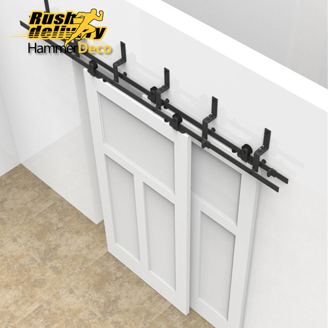 3050mm to 4880mm style upper sliding door hardware indoor barn ...