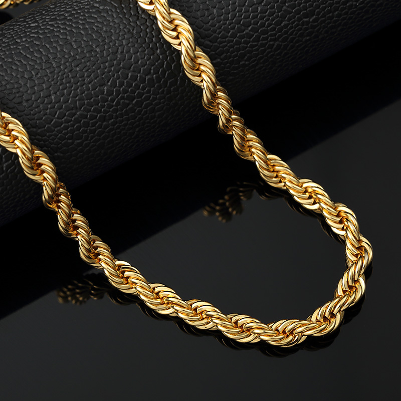 Popular Thick Gold Rope Chains Buy Cheap Thick Gold Rope
