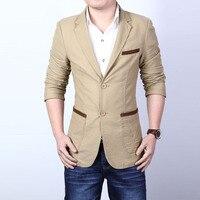 Men S New Stylish Blazer Long Sleeve Slim Fit Two Button Suit Blazer Jacket Coat Men
