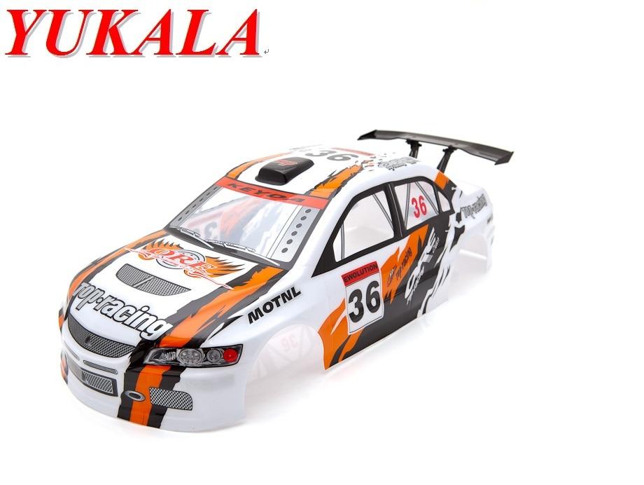 yukala 1 10 rc car parts 1 10 rc car pvc body shell for henglong drift car 200mm 445mm no. Black Bedroom Furniture Sets. Home Design Ideas