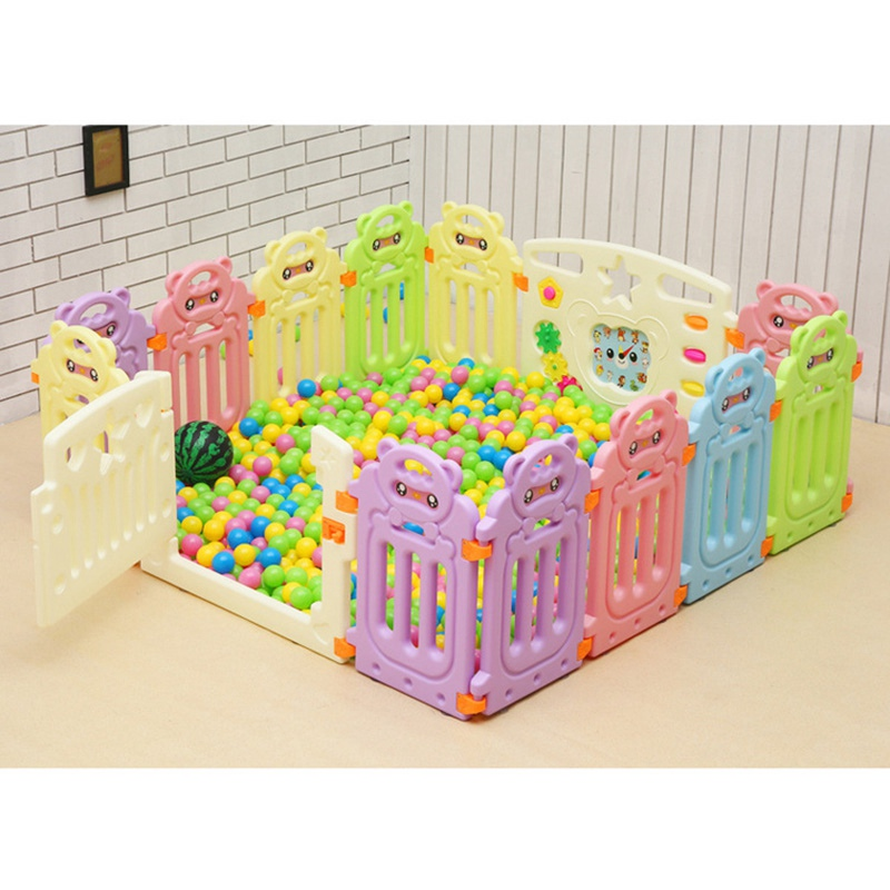 Baby Safety Fence Playpen Fencing for Children Baby Fence Play Yard Child Safety Fence Indoor Baby Game Playpen Safety Barriers