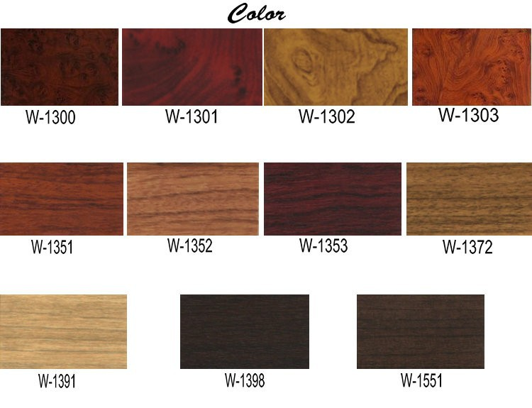 10cm X 122cm Car Change Color Vinyl Fiber Film Wood Grain