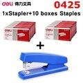 [ReadStar] Deli 0425 классический экономный степлер 20 бумаг емкость соответствует 24/6-26/6 штапель inlude 1xстеплер + 10 коробок скобы
