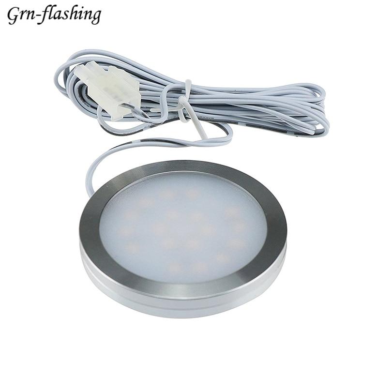 12V 2W LED Light Cabinet Lighting For Under Kitchen Cabinets Home hall Bedroom L